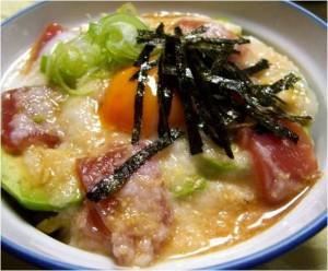 マグロアボガ丼